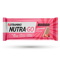 Nutramino Nutra-Go Protein Wafer Strawberry Limited Edition 12x39g
