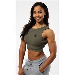 Better Bodies Astoria Laced Tank Wash Green