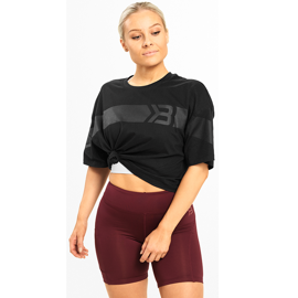 Better Bodies Chrystie Tee Wash Black