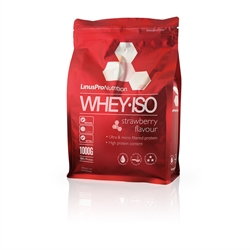 LinusPro Whey ISO Strawberry 1000g
