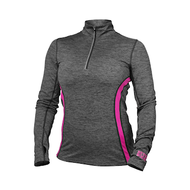 Better Bodies Performance Mid Longsleeve Graphite/pink