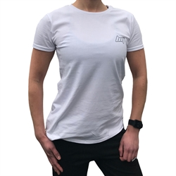 BM Womens Fitted Tee White