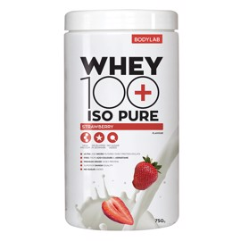 Bodylab Whey 100 ISO Pure Strawberry 750g