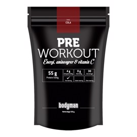 Bodyman Pre Workout Cola 210g