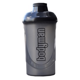 Bodyman Shaker Black Smoke 600ml