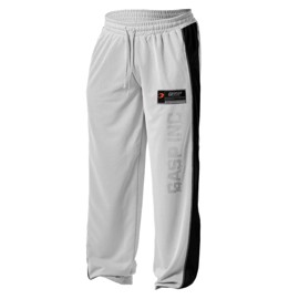 GASP No1 Mesh Pants White Black
