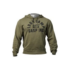 Gasp Throwback Hoodie Wash Green