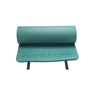 "Harbinger 5/8"" Ribbed Durafoam Mat Green"