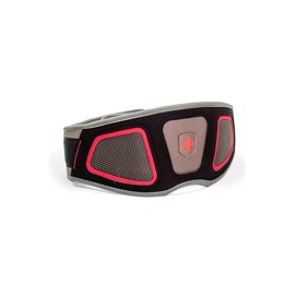 Harbinger Mens Flexfit Contour Belt Red Grey