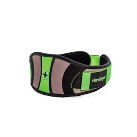 Harbinger Womens Contour Flexfit Belt Green Black
