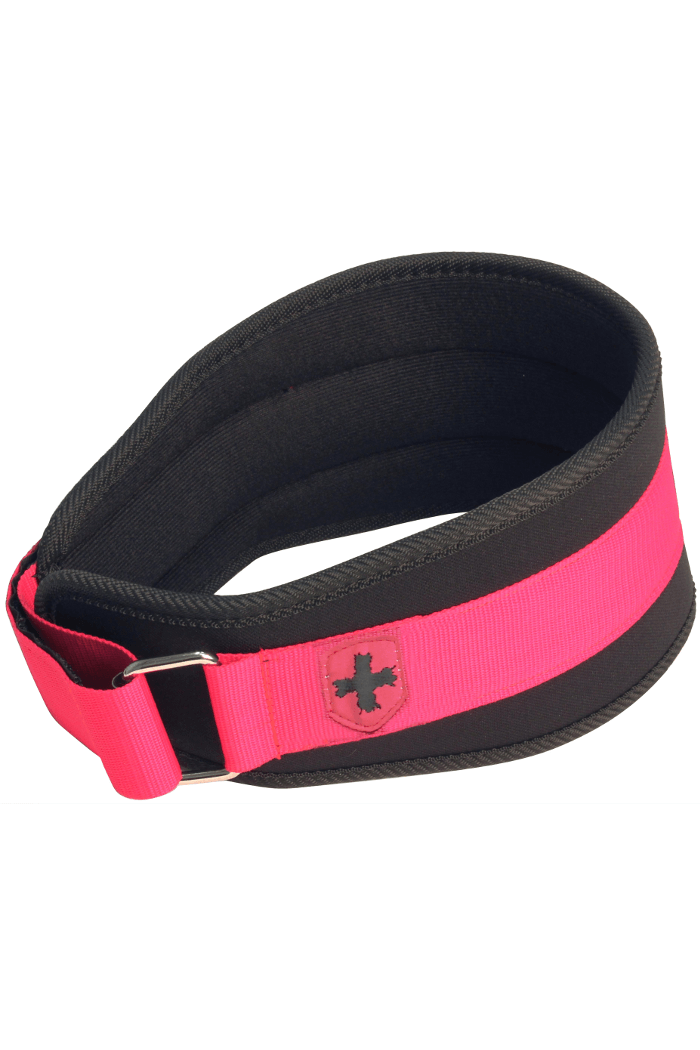 "Harbinger Womens 5"" Foam Core belt Pink/Black"