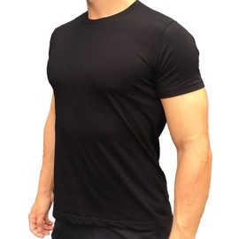 Muscle T-shirt Black