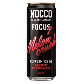 NOCCO Focus 2 Melon Crush 24x330ml