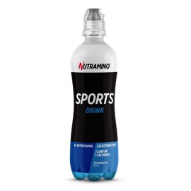 Nutramino Sports Drink Strawberry 500ml - 18 stk