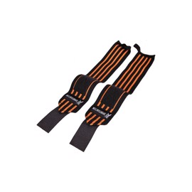 Sportact Wrist Wraps - Sort/Orange