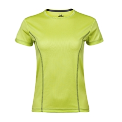 Womens Performance Tee Lime
