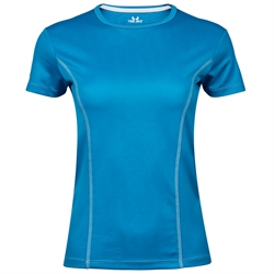 Womens Performance Tee Azure