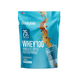 Bodylab Whey 100 Vanilla Ice Coffee 1000g