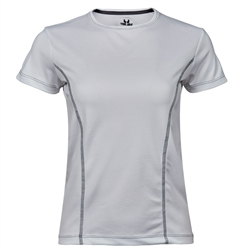 Womens Performance Tee White
